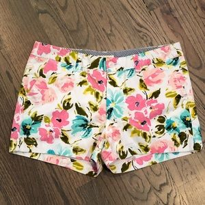 Merona Floral Blossom Shorts Size 6